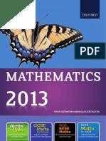 Maths2013 Catalogue Resources