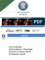 Destilerias Unidas Lean Six Sigma