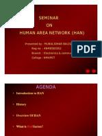 human area network