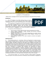 WGHRD-14 Summary of Proceedings