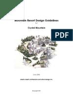 Crystal Mountain Resort Design Guidelines-june2006
