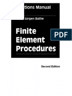 Finite Element Procedures 2ed-Solutions Manual (KJB)