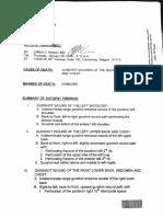 Finicum Autopsy Report