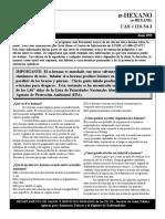 Efectos Del Hexano en El Org.