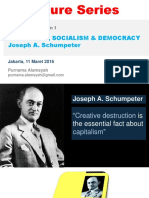 "Bedah Buku ""Capitalism, Socialism & Democracy"" - Bagian 1"