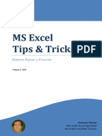 Excel Tips and Tricks Vol 1