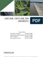Sabo Dam, Check Dam, Dan Groundsill