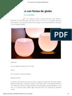 DIY Fanales Con Forma de Globo _ Blog Adoraideas