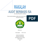 Makalah Audit berbasis ISA