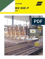 Instalatie Taiere Automatizata Modulara_CNC_Plasma_Oxi-Gaz_Inscriptionare_Jet Apa_ESAB SUPRAREX SXE-P2 (en)