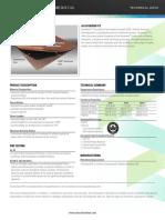 Alucobond PE Tech Data July 2015