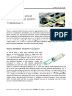 Do You Know about SMF&MMF 40G QSFP+ Transceiver