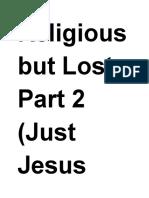 Just Jesus Evangelistic Campaign #63