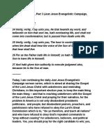 Just Jesus Evangelistic Campaign #56