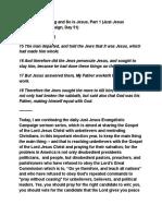 Just Jesus Evangelistic Campaign #51