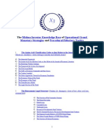 Instructions for the Mishna Investment Strategies and Monetary Tactics