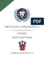 Protocolo de Debate Diplomatico