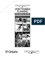 Sport Tourism Planning Template