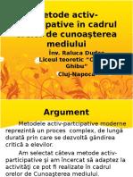 Medode Interactive in Cadrul Orelor de C M