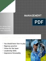 Management Stories