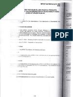 Methods Determination of Dobi of Cpo