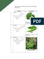 Pengelompokan Flavonoid Berdasarkan Struktur Kimia