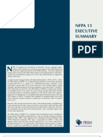NFPA13ExecutiveSummary