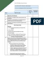 Sample Audit Program Sales and Accounts Receivable