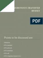Asynchoronous Transfer Modes1