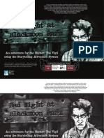 Hunter the Vigil - SAS - Bad Night at Blackmoon Farm