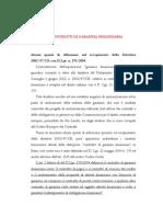 Albina Candian _ I contratti di garanzia finanziaria _ Forum Garanzie 2010