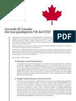 Cosa guadagnerà l'UE dal CETA?