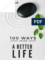 100 Ways to Improve Your Life eBook Second Edition