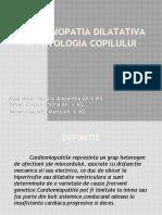 Cardiomiopatia Dilatativa in Patologia Copilului