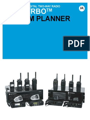 MotoTRBO System Planner | Computer Network | Telephone