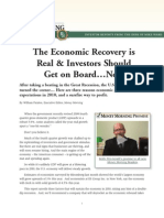 The Economic Recovery is Real Report