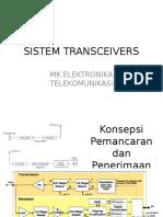 Elka Telkom_sistem Transceivers
