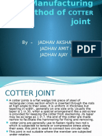 Manufacturing Method of Cotter Joint[1]