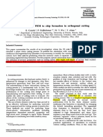 1996-Application of 2D FEM to chip formation in orthogonal cutting.pdf