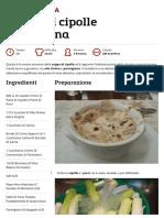 Ricetta Zuppa Di Cipolle All'Italiana _ Ricette Di ButtaLaPasta