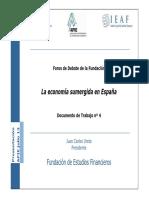 La Economia Sumergida en España 12.07.13