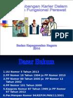 Pengembangan karier PNS dalam jafung perawat.ppt
