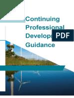 Continuing Professional Development Guidance
