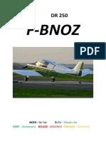 Checklist DR 250