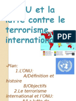 L_ONU Et La Lutte Contre Le Terrorisme International (1)