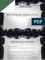 Actividad didáctica de Funciones lineales