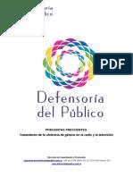 Violencia Mediatica - Defensoria Del Publico