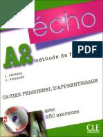 Écho A2 - Cahier d'Exercices