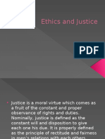 Ethics and Justice