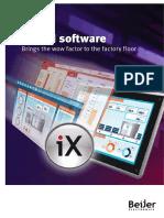 IX HMI Software Brochure BREN603